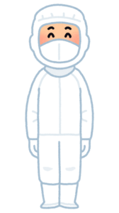 食品工場 白衣