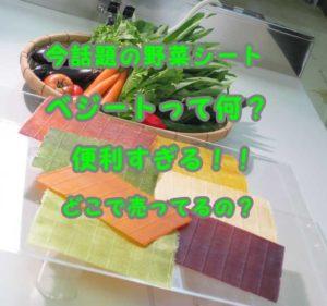 ベジート 野菜シート
